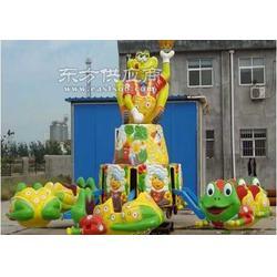 弹跳青蛙昊恒新游乐设备玻璃钢图片