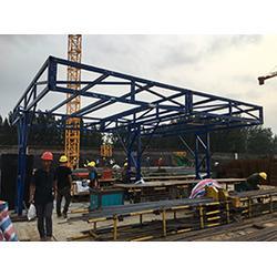 河南工地鋼筋棚專業建設廠家,(捍衛建筑),開封鋼筋棚圖片