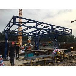 河南钢筋加工棚生产厂家、信阳钢筋加工棚、(捍卫建筑)(查看)图片