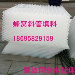 高浊度污水处理用50mm直径蜂窝斜管零利润销售图片