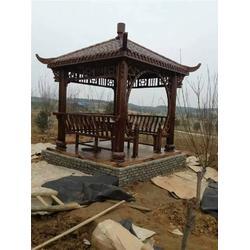 辉盛防腐木厂家、防腐木花盆、掇刀区防腐木图片