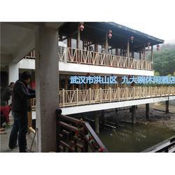 制作防腐木花架、咸安区防腐木、辉盛防腐木(查看)图片