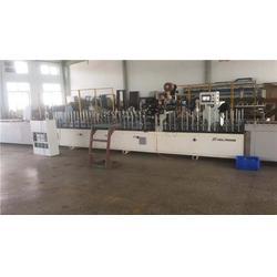 PUR热胶竹木胶合板覆膜机-皓泽曼机械(在线咨询)覆膜机图片