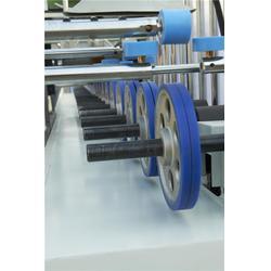 覆膜机-护墙板热胶PUR覆膜机-皓泽曼机械(优质商家)图片