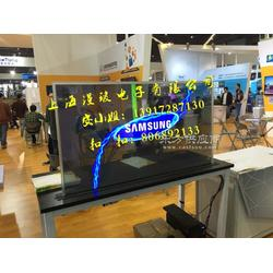 透明OLED显示屏/OLED自发光显示屏/OLED展览展示柜图片