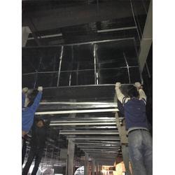 镀锌板螺旋焊接风管加工-亚特兰通风公司-江北螺旋焊接风管加工图片