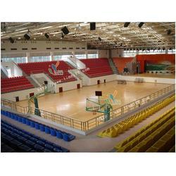 立美建材专业安装,绵竹运动木地板,体育运动木地板图片