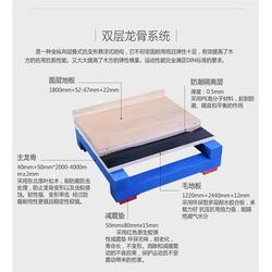 淮北枫木运动地板_立美体育_枫木运动地板厂家图片