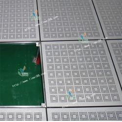 立美建材产品品质保证、防静电地板、全钢防静电地板国标图片