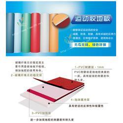 PVC运动胶地板销售|PVC运动胶地板|立美建材智能环保图片