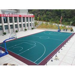 沙田悬浮拼装地板_立美体育_幼儿园悬浮拼装地板图片