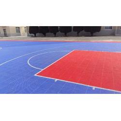 南头拼装地板,羽毛球悬浮拼装地板,立美体育图片