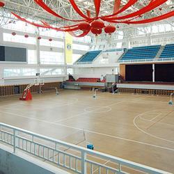 立美体育 丹东体育木地板 体育木地板厂家图片