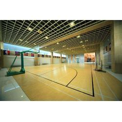 松原体育木地板_篮球馆体育木地板_立美体育图片
