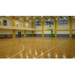 体育木地板|立美体育|排球场体育木地板图片