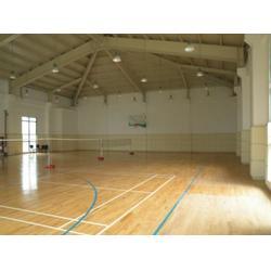 體育木地板工程,濟寧體育木地板,立美體育一站式服務圖片