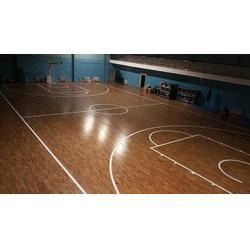 七台河体育木地板|立美体育为你定制|体育木地板图片