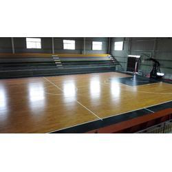 抚顺体育木地板|立美体育为你定制|体育木地板厂家图片