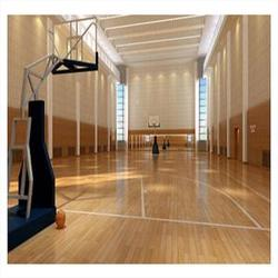 实木运动地板工程|浈江实木运动地板|立美体育
