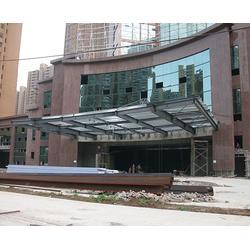 钢结构雨棚搭建-安徽美铖(在线咨询)-安徽钢结构雨棚图片