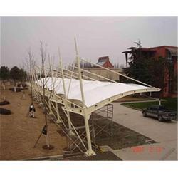 安徽美铖钢结构工程 膜结构车棚公司-合肥膜结构车棚图片