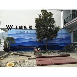 渭南墙体彩绘,停车场墙体彩绘,王康彩绘(优质商家)图片