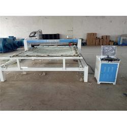 静海棉被绗缝机| 朕兴机械卓越品质|棉被绗缝机厂家图片