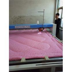 棉被绗缝机商、朕兴机械(在线咨询)、德州棉被绗缝机图片