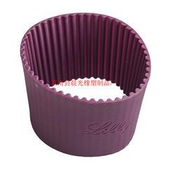 镂空硅∑ 胶杯套厂�家-镂空硅胶�杯套-晨光橡塑(查看)图片