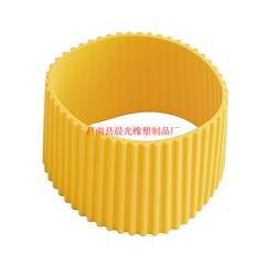 硅胶隔热杯套定做,晨光橡塑(在线咨询),硅胶隔热杯套图片