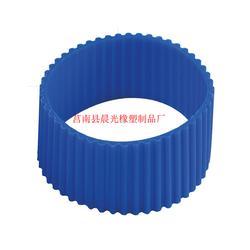 硅胶隔热杯套厂家_晨光橡塑(在线咨询)_硅胶隔热杯套图片