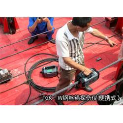 电梯钢丝绳检测仪装置、电梯钢丝绳检测仪、洛阳威尔若普图片
