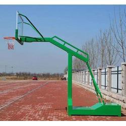 江苏移动式手动液压篮球架-强森体育器材合作投标图片