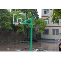 强森体育器材(图)_室外手动液压篮球架_广东手动液压篮球架图片