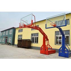 遥控电动液压篮球架-强森体育器材合作投标图片