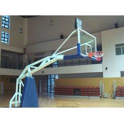强森体育器材(图)、方管移动篮球架厂家、河北方管篮球架图片