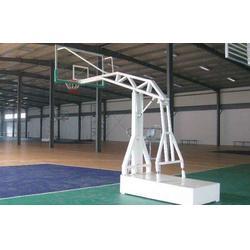 悬臂电动液压篮球架图片