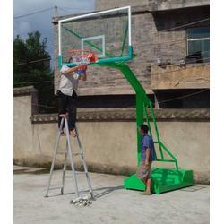 凹箱海燕式篮球架_强森体育低_凹箱海燕式液压篮球架图片