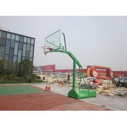 移动式凹箱篮球架,强森体育合作授权(在线咨询),凹箱篮球架图片