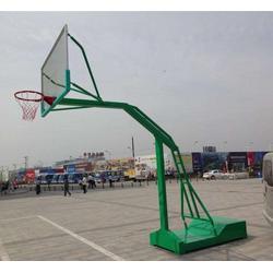 山东移动式凹箱篮球架-强森体育器材合作授权图片