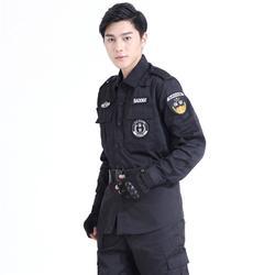 保安服装定制、松子红服装、保安服装定制图片