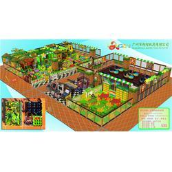 宜宾儿童乐园加盟-广州朗智康体-超市儿童乐园加盟图片