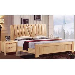 平顶山实木床头柜-怡林家具-私立学校实木床头柜定做图片