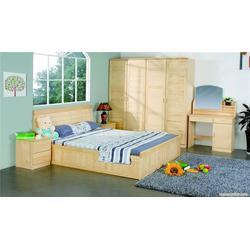 私宅松木床柜-焦作私宅松木床�L柜-怡林家具(查看)图片