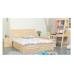 家庭松木床头柜厂、南阳家庭松木床头柜、怡林家具图片