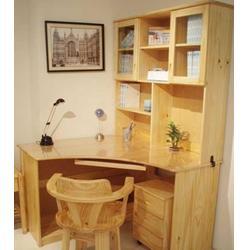 信阳家庭松木床实力柜,怡林家具,家庭松木床柜订制图片