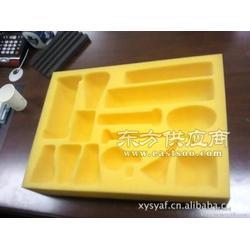 供应可定制黑色包装海绵 高回弹缓冲EVA泡棉 EVA包装内衬图片