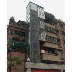 张店电梯 淄博龙达 旧楼安装电梯安装