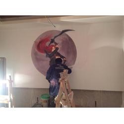 创艺墙体彩绘-光阴绘墙绘(在线咨询)景德镇墙体彩绘图片