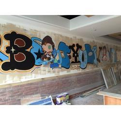 光阴绘墙绘制作厂 墙体彩绘 环保-新余墙体彩绘图片